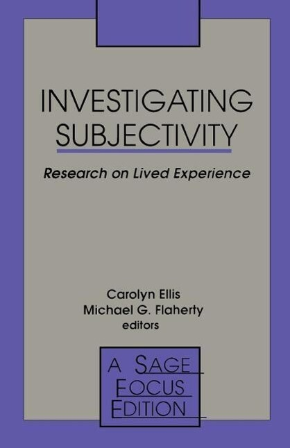 Investigating Subjectivity: Research on Lived Experience als Taschenbuch