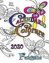 Calendario da Colorare 2020 Farfalle