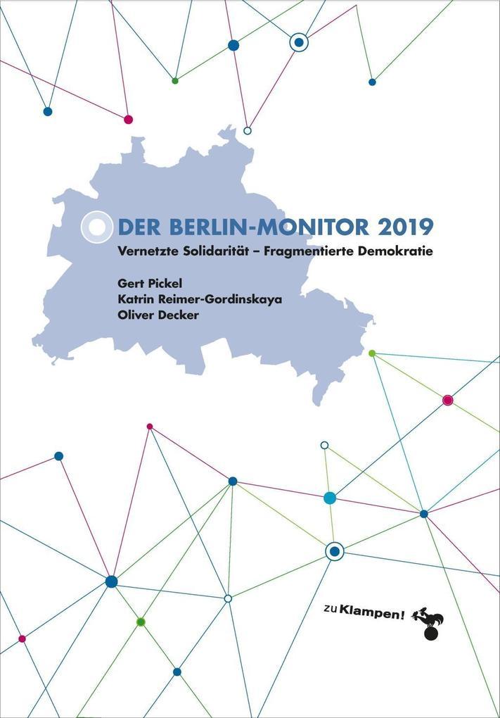 Der Berlin-Monitor 2019 als Buch (kartoniert)