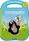 Trötsch Der kleine Maulwurf Stickermalbuch mit Henkel