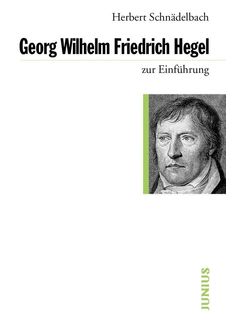 Georg Wilhelm Friedrich Hegel als eBook epub