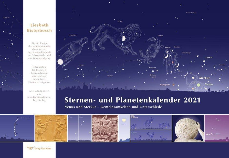 Sternen- und Planetenkalender 2021 als Kalender