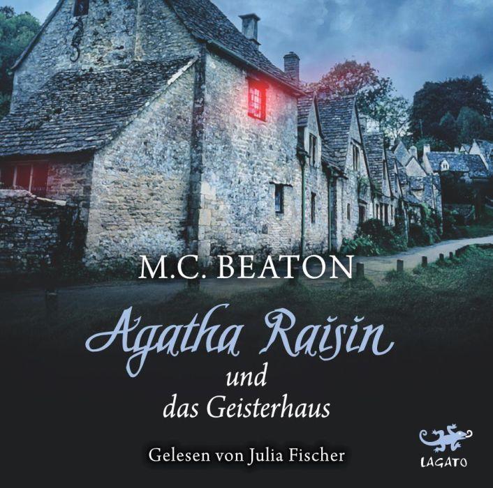 Agatha Raisin und das Geisterhaus als Hörbuch CD