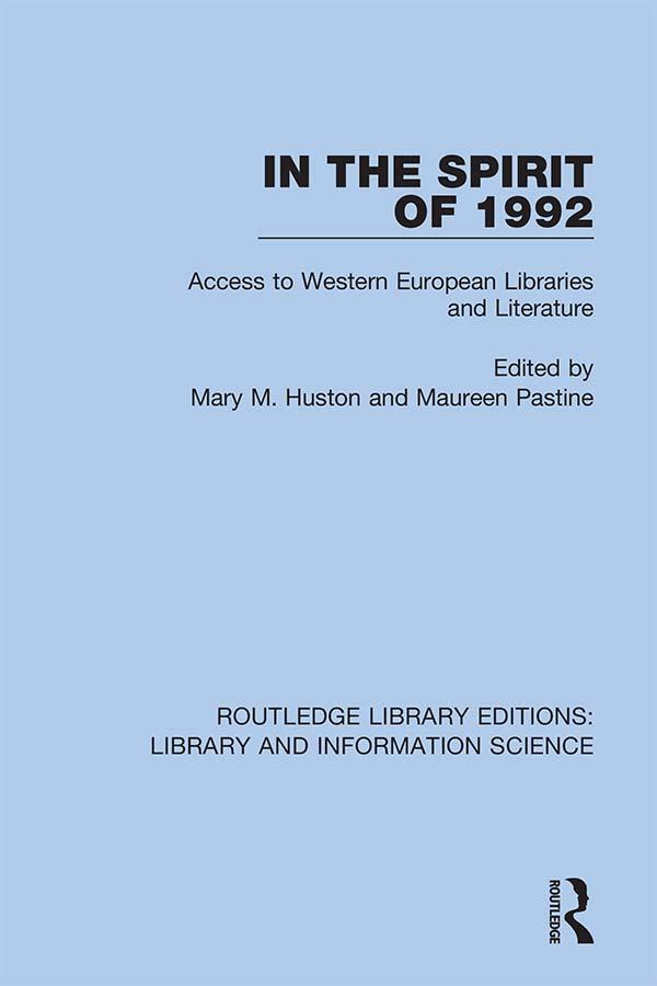 In the Spirit of 1992 als eBook pdf