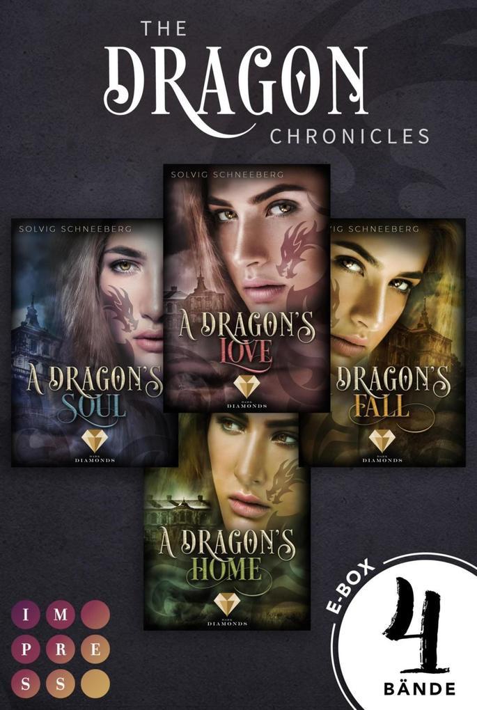 Sammelband der gefühlvollen Urban Fantasy Serie für Drachenfans (The Dragon Chronicles) als eBook epub