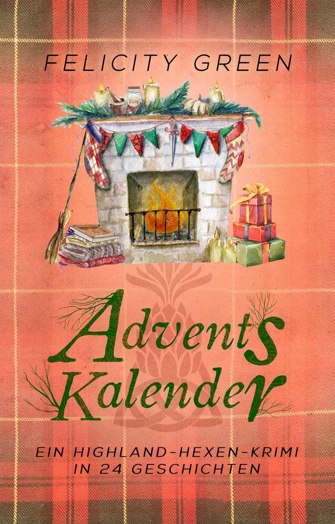 Highland-Hexen-Krimi Adventskalender als eBook epub