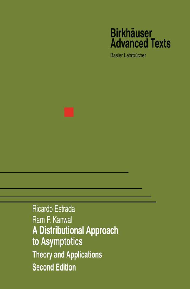 A Distributional Approach to Asymptotics als Buch (gebunden)