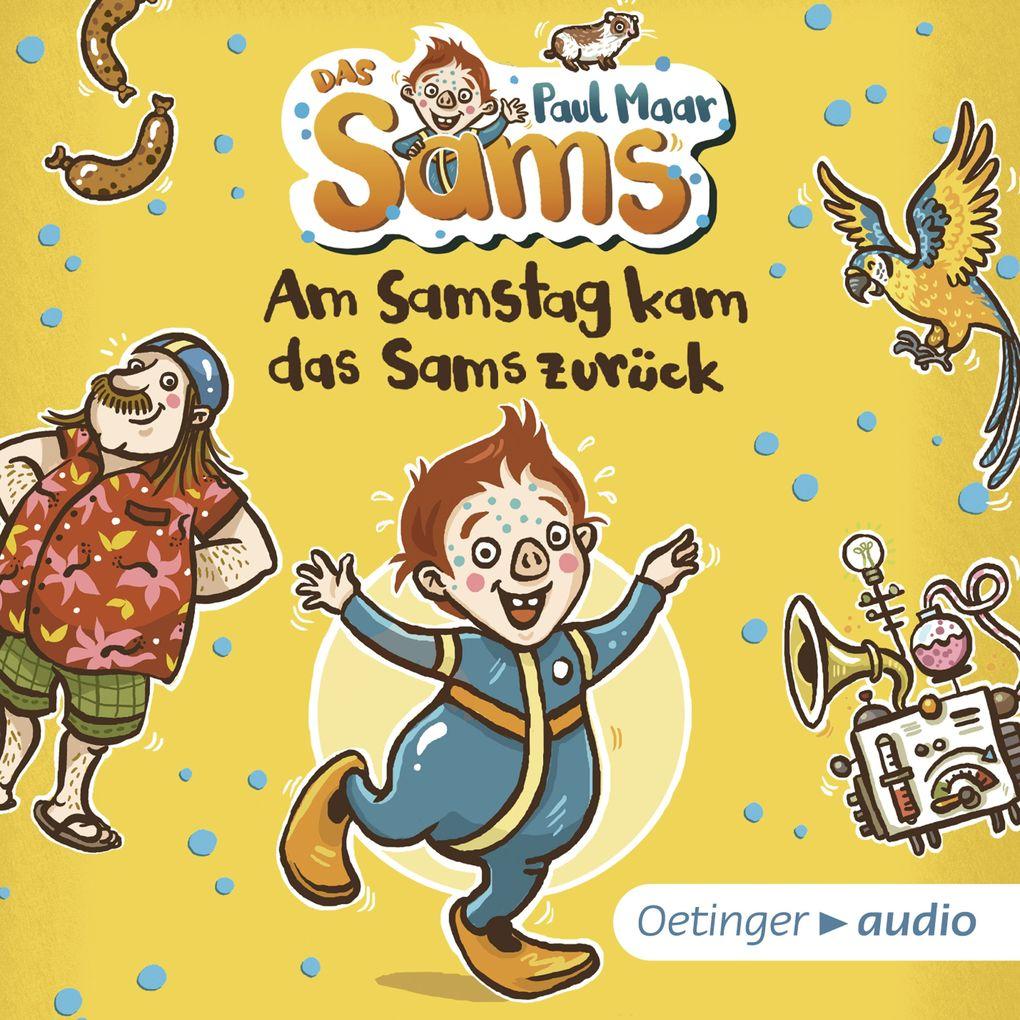 Am Samstag kam das Sams zurück als Hörbuch Download