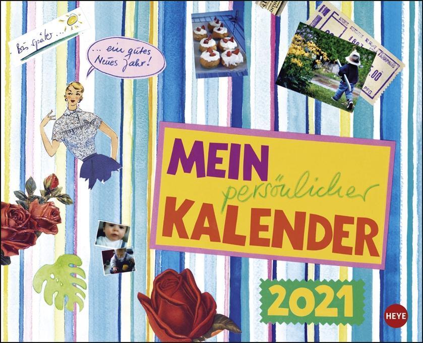 Kohwagner Mein persönlicher Kalender 2021 als Kalender