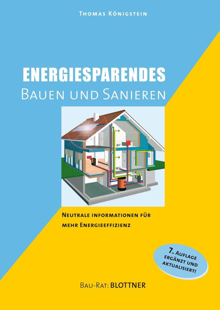 Energiesparendes Bauen und Sanieren als eBook epub