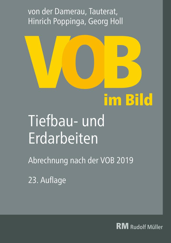 VOB im Bild - Tiefbau- und Erdarbeiten - E-Book (PDF) als eBook pdf