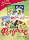 Ponyherz: Band 1-5 der beliebten Pferde-Abenteuer-Serie im Sammelband!