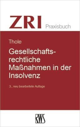 Gesellschaftsrechtliche Maßnahmen in der Insolvenz als eBook epub