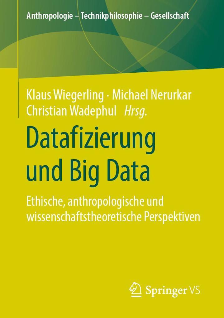 Datafizierung und Big Data als eBook pdf