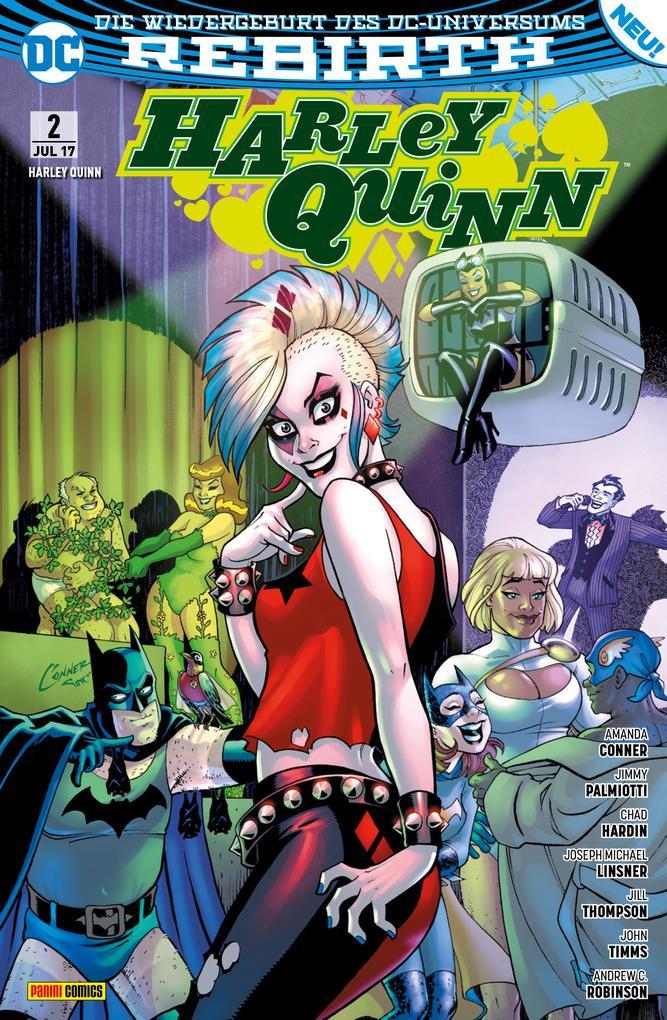 Harley Quinn - Rebirth, Band 2 als eBook epub