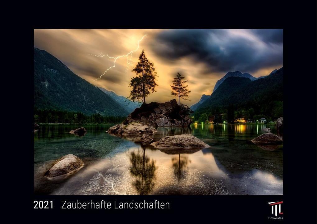 Zauberhafte Landschaften 2021 - Black Edition - Timokrates ...