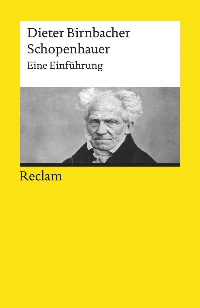 Schopenhauer. Eine Einführung als eBook epub