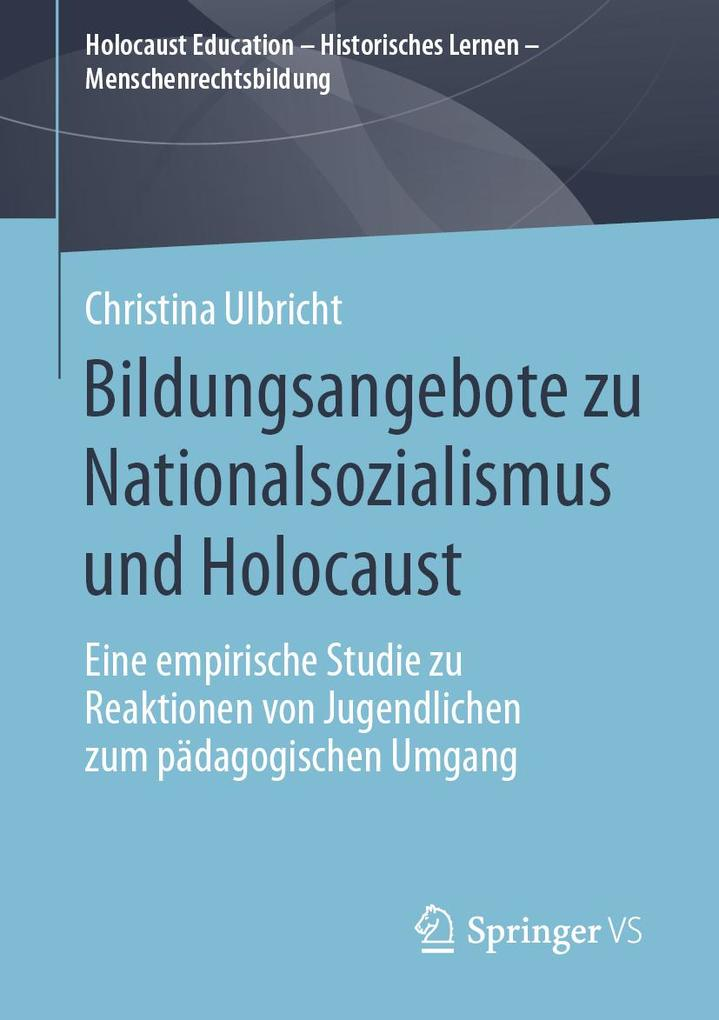 Bildungsangebote zu Nationalsozialismus und Holocaust als eBook pdf