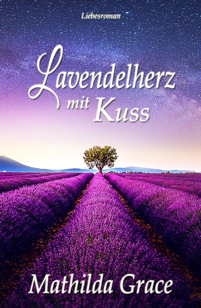 Lavendelherz mit Kuss als eBook epub