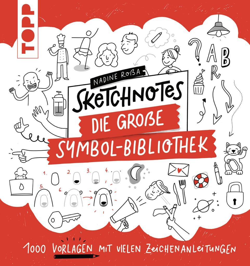 Sketchnotes. Die große Symbol-Bibliothek als eBook epub