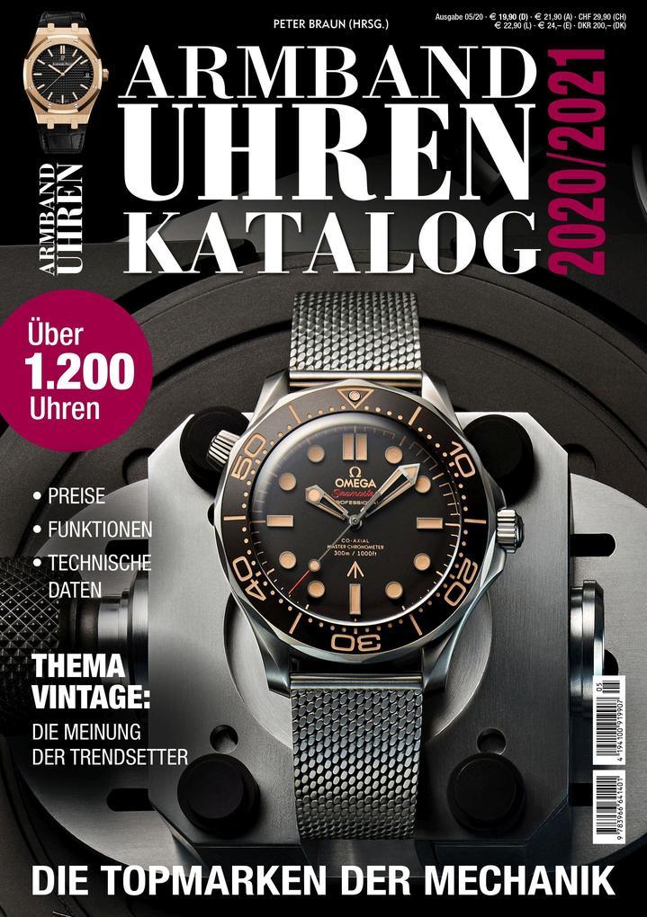 Armbanduhren Katalog 2020/2021 als Taschenbuch