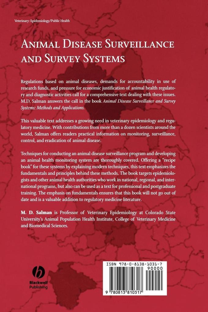 Animal Disease Surveillance Survey Syst als Taschenbuch
