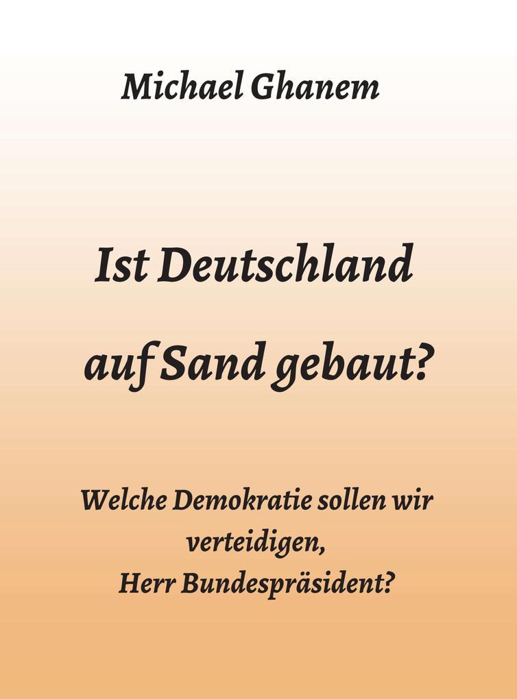 Ist Deutschland auf Sand gebaut? als eBook epub