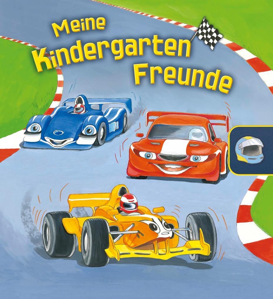 Meine Kindergarten-Freunde (Rennautos). gondolino Eintragbücher als Buch (gebunden)