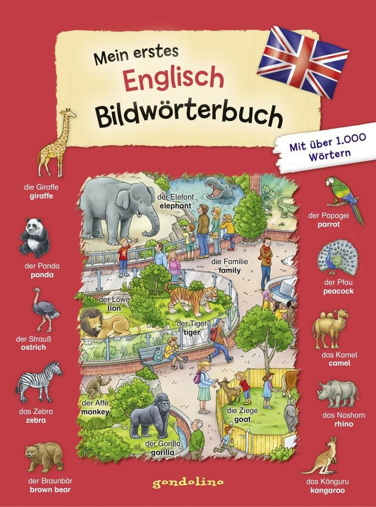 gondolino Bildwörter- und Übungsbücher: Mein erstes Englisch Bildwörterbuch als Buch (gebunden)