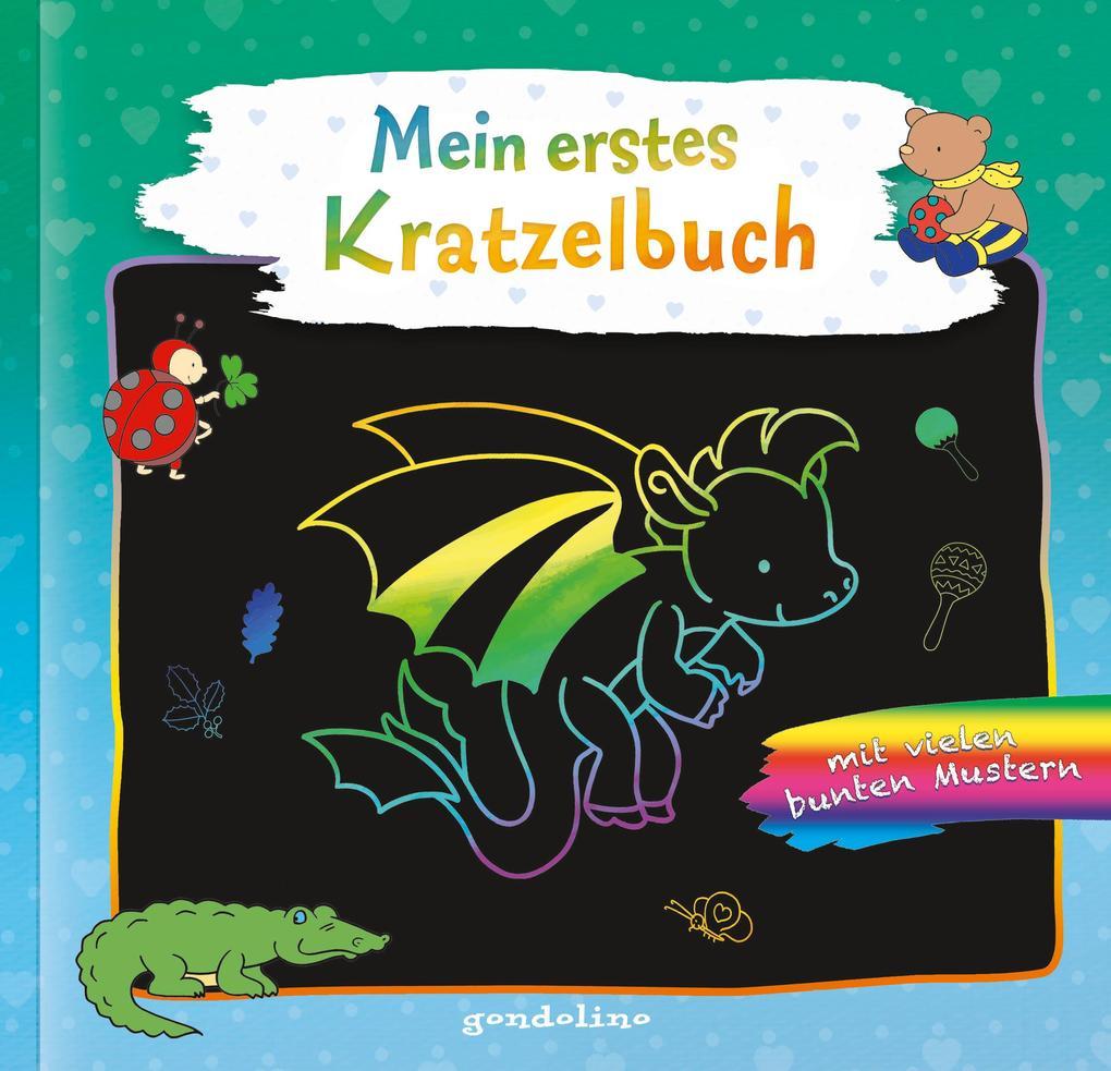 Mein erstes Kratzelbuch Drache. gondolino Kratzelwelt als Buch (kartoniert)
