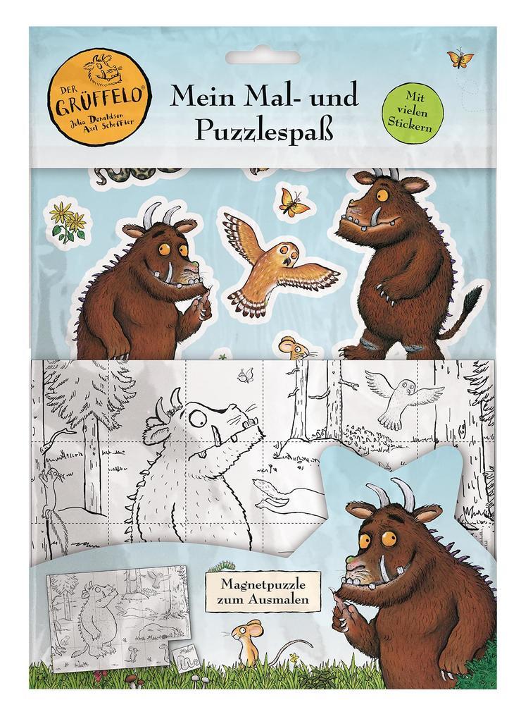Der Grüffelo: Mein Mal- und Puzzlespaß als Buch (kartoniert)