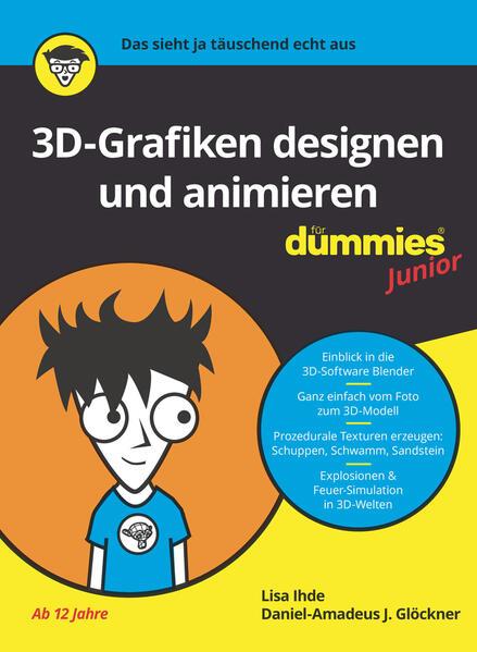 3D-Grafiken designen und animieren für Dummies Junior als Buch (kartoniert)