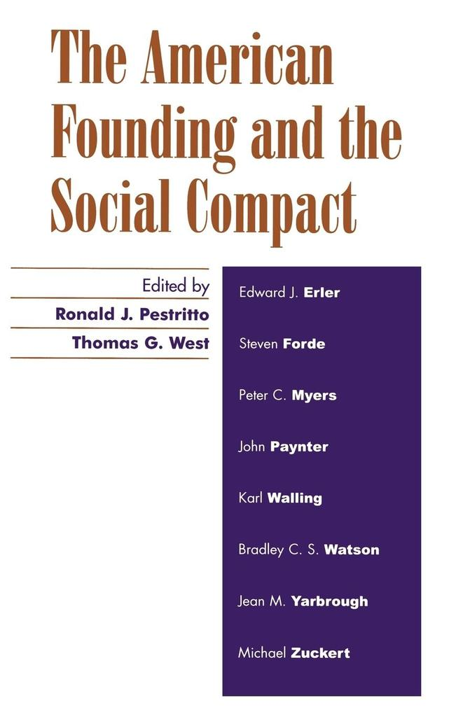 The American Founding and the Social Compact als Buch (gebunden)