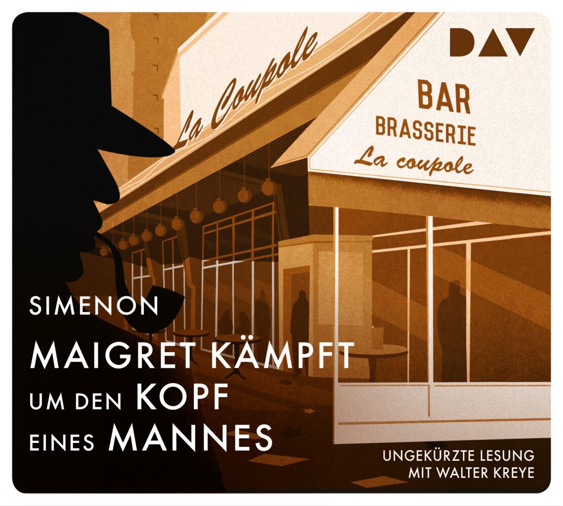 Maigret kämpft um den Kopf eines Mannes als Hörbuch CD