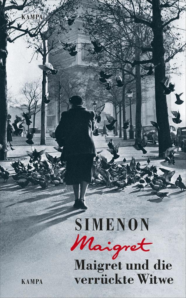 Maigret und die verrückte Witwe als Buch (gebunden)