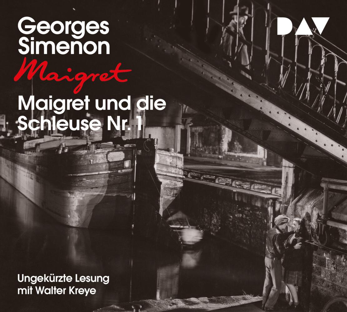 Maigret und die Schleuse Nr. 1 als Hörbuch CD