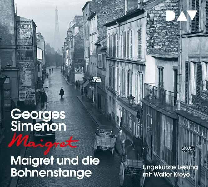 Maigret und die Bohnenstange als Hörbuch CD