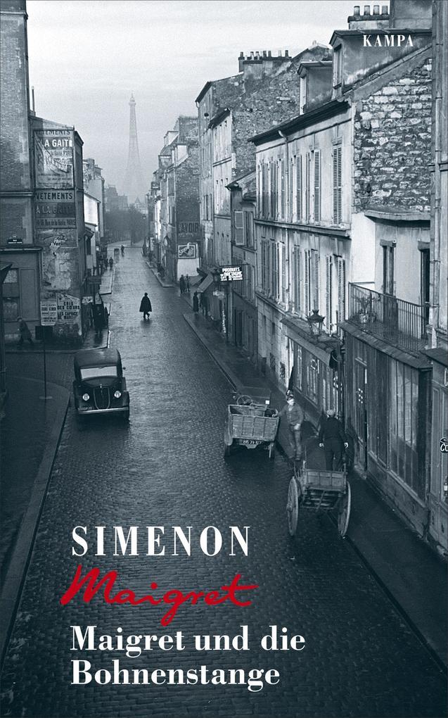 Maigret und die Bohnenstange als Buch (gebunden)
