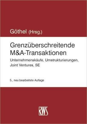 Grenzüberschreitende M&A-Transaktionen als eBook epub