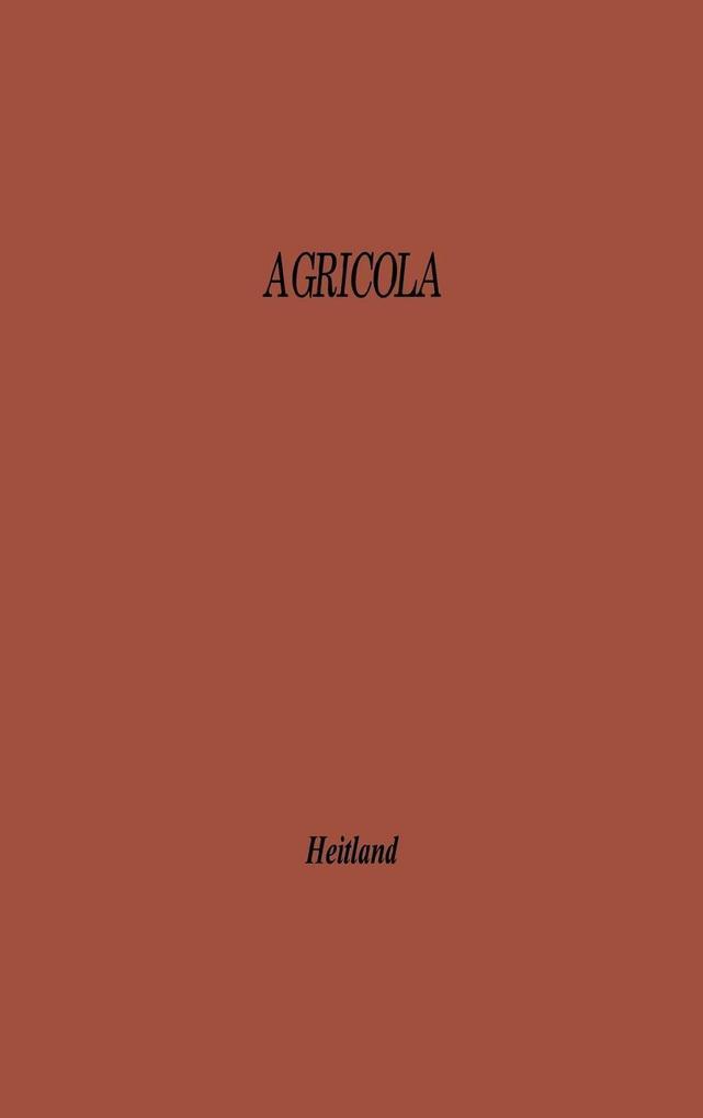 Agricola als Buch (gebunden)