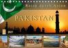 Reise durch Asien - Pakistan (Tischkalender 2021 DIN A5 quer)