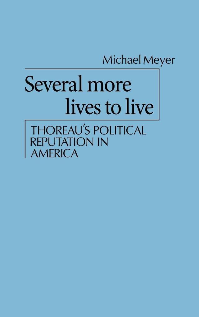 Several More Lives to Live als Buch (gebunden)