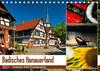 Badisches Hanauerland (Tischkalender 2021 DIN A5 quer)