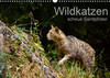 Wildkatzen - scheue Samtpfoten (Wandkalender 2021 DIN A3 quer)