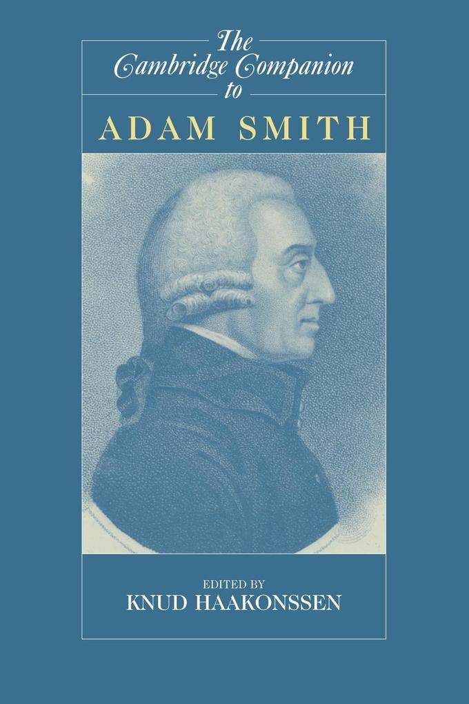 The Cambridge Companion to Adam Smith als Buch (kartoniert)