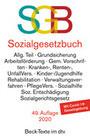 Sozialgesetzbuch, mit Sozialgerichtsgesetz