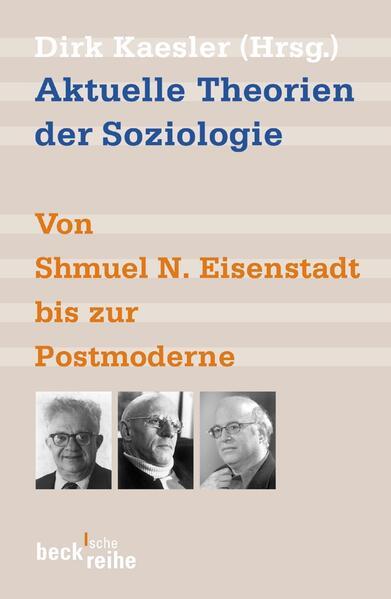Aktuelle Theorien der Soziologie als Taschenbuch