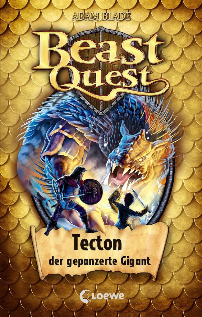 Beast Quest 59 - Tecton, der gepanzerte Gigant als Buch (gebunden)