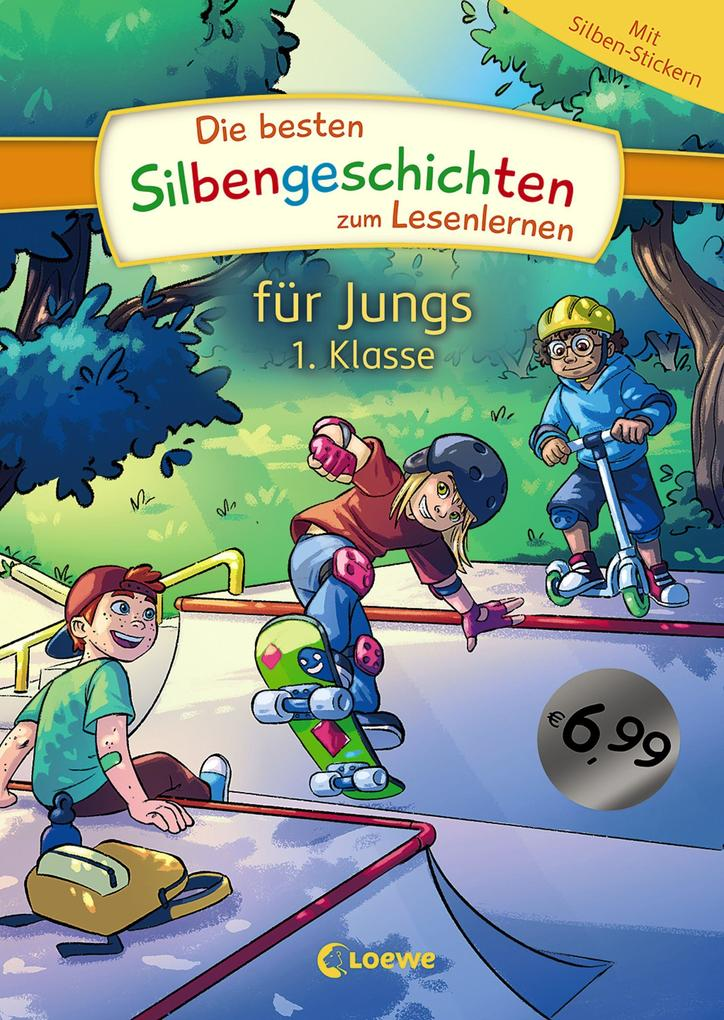 Die besten Silbengeschichten zum Lesenlernen für Jungs 1. Klasse als Buch (gebunden)