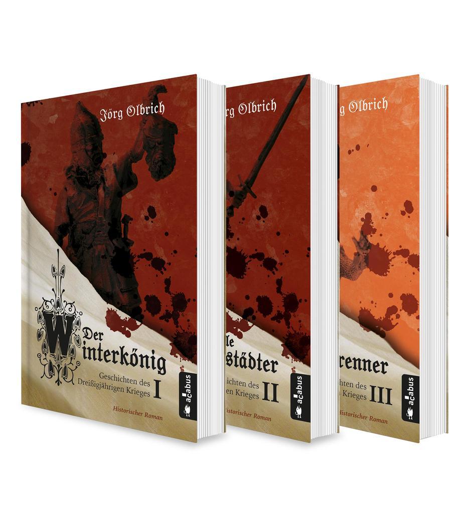 Der Dreißigjährige Krieg Band 1-3: Der Winterkönig / Der tolle Halberstädter / Der Hexenbrenner als eBook epub